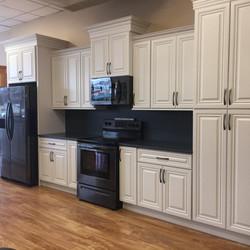 Dove White Showroom Kitchen
