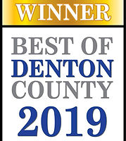 Best Of Denton County 2019 Winner Logo F