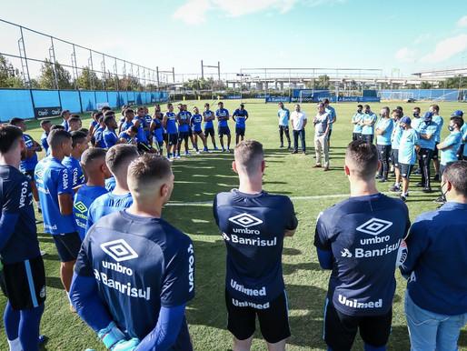 Sob o olhar de Tiago Nunes, Grêmio encara o Táchira pela Sula