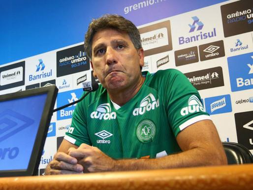 Renato Portaluppi sai do Grêmio: o destino é a Chapecoense?