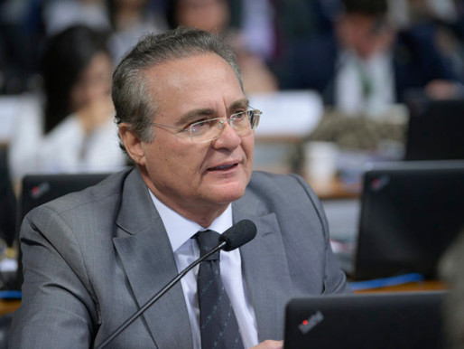 Justiça Federal barra Renan Calheiros da relatoria da CPI