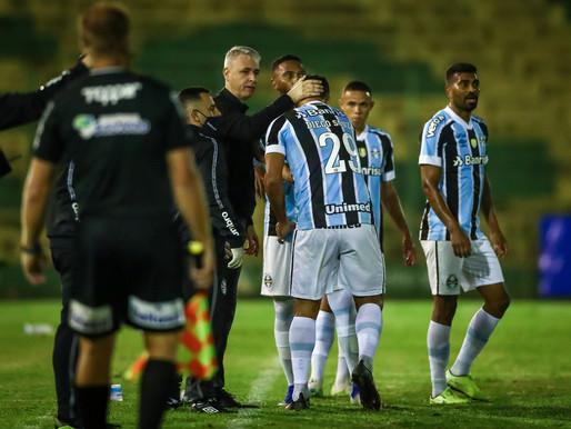 Confira os lances de Ypiranga e Grêmio pelo Gaúchão