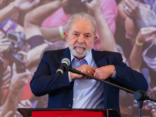 Por 8 a 3, STF confirma decisão de Fachin que mantém Lula elegível para 2022