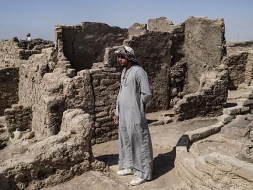 Escondida por séculos, grande cidade faraônica é descoberta no Egito; veja fotos
