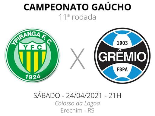 Ypiranga x Grêmio: Escalações e arbitragem