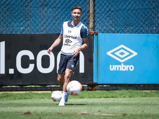 Diogo Barbosa testa positivo para Covid-19 e desfalca o Grêmio na Libertadores