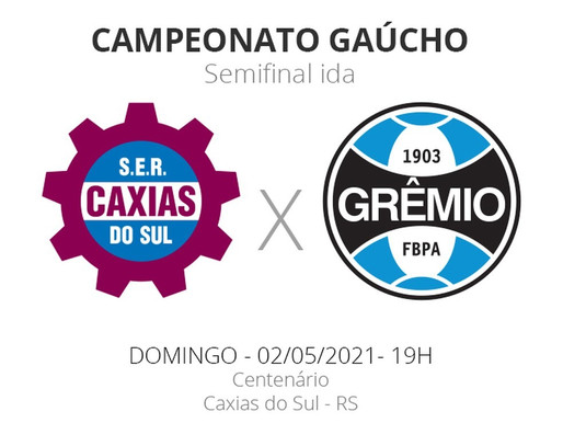Caxias x Grêmio; Escalações e desfalques da primeira semi do Gaúchão