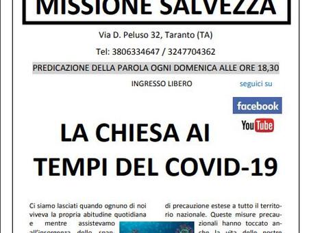 E' finalmente disponibile il nuovo numero del giornalino di Missione Salvezza.