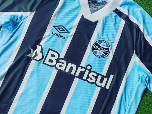 Vaza suposta camisa do Grêmio para temporada 2021