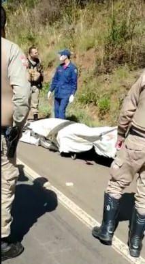 Homem é flagrado com cadáver em carrinho de mão no Oeste de SC
