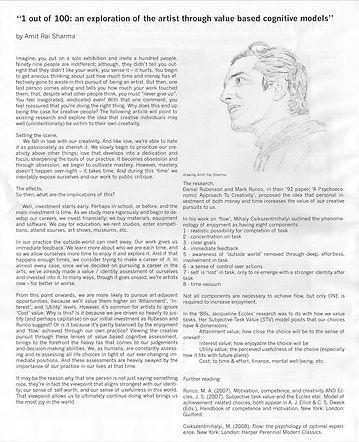 1 out of 100 AmitRSharma Museletter Jun/Jul 201