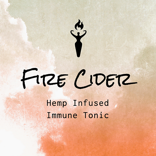 Fire Cider- Hemp Infused Immune Tonic