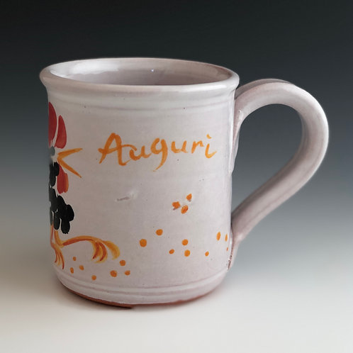 "Sycamore Pottery - ""Auguri"" Good Wishes"