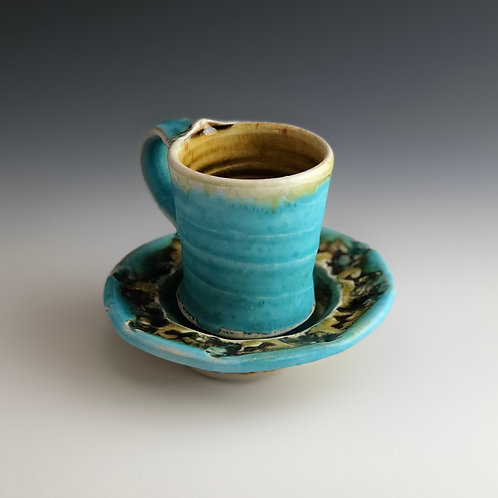 Gay Smith - Espresso Cup with Saucer 2