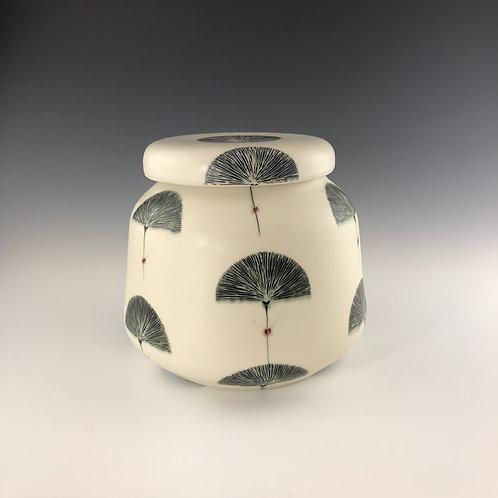 Gingko Ginger Jar