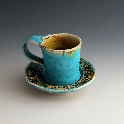 Gay Smith - Espresso Cup with Saucer