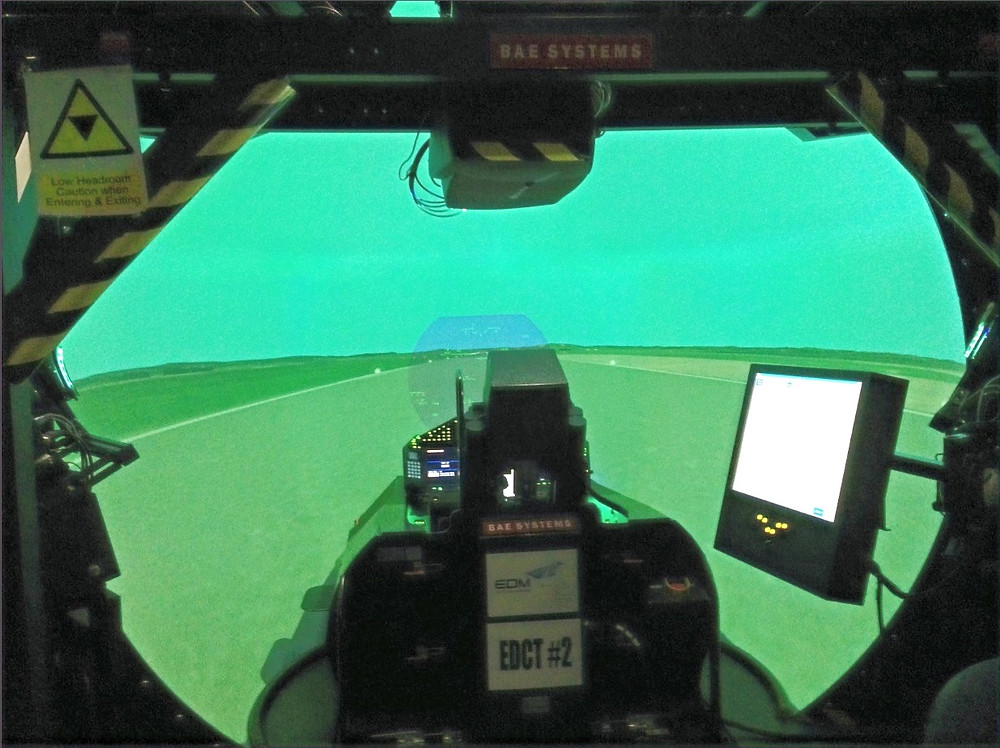 RAF Leuchers Eurofighter Typhoon Simulator
