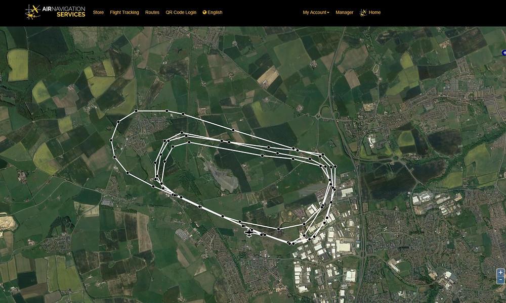 Air Navigation Pro Flight tracking