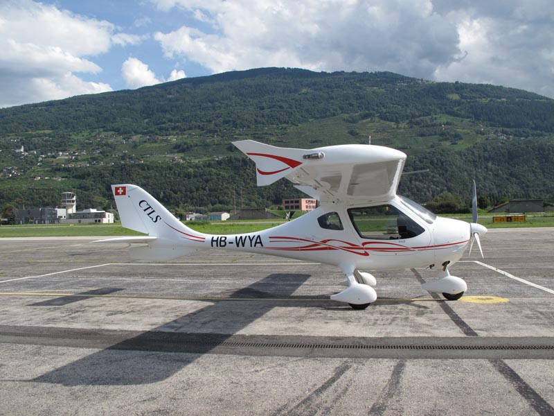 Flight Design CTLS round the world flight