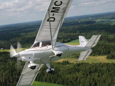 New to the UK: The Ikarus C42C