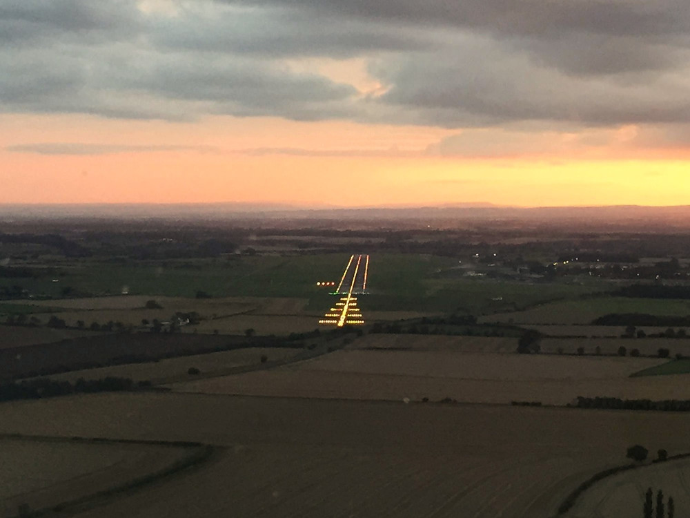 Familiarise yourself with the circuit and runway