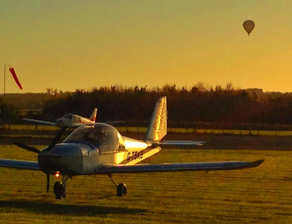 Flying the EV-97 Eurostar