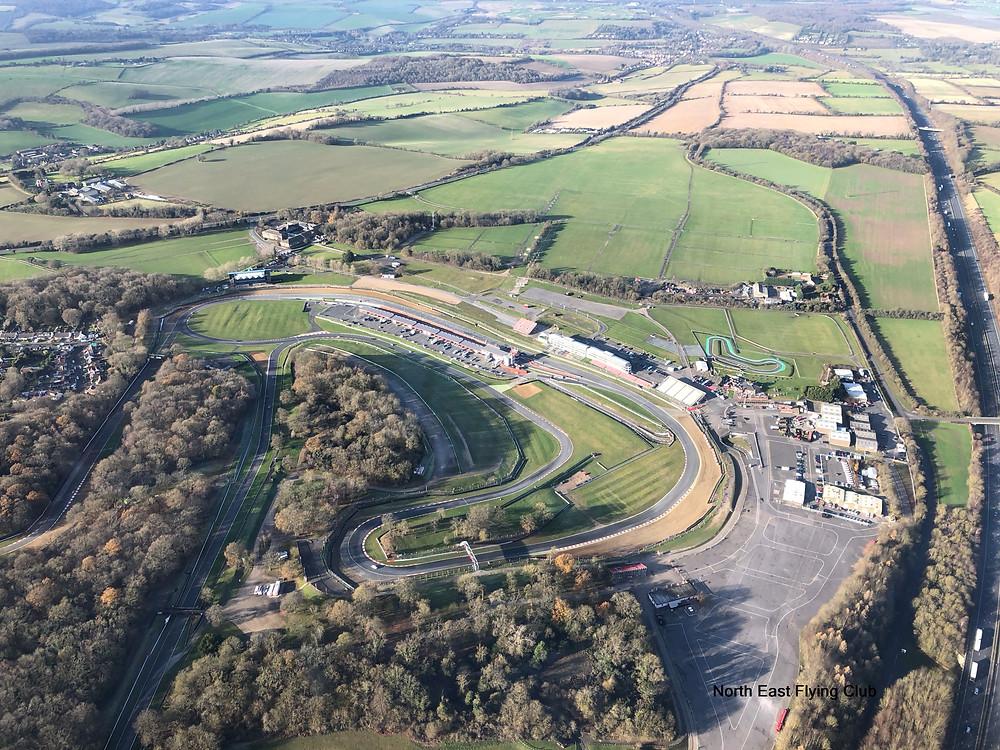 Brands Hatch racing track