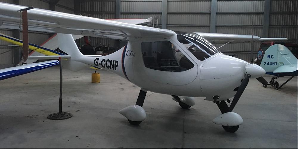 Microlight Flight Training in the Flight Design CT2K
