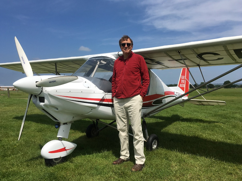 Too Scared to Solo, Ikarus C42 G-CFAV