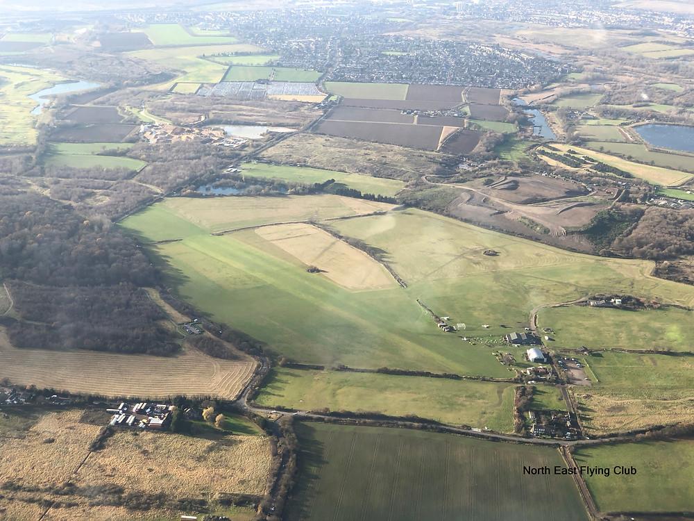 Damyn's Hall Aerodrome near London City Airport