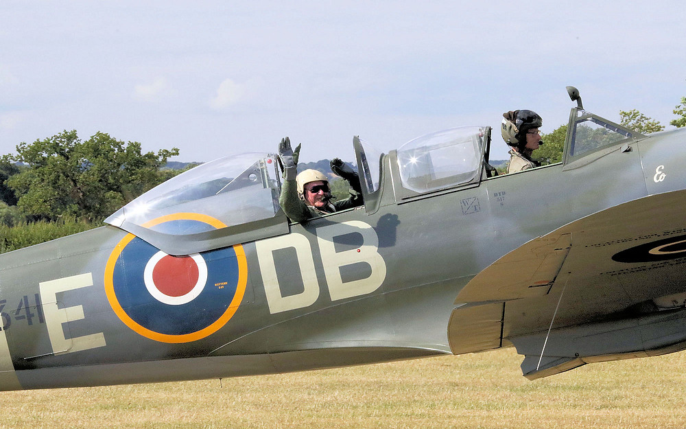 Aero Legends once-in-a-lifetime Spitfire experience.