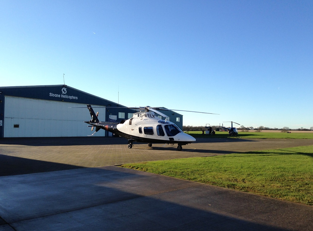 G-WELY of Sloane Helicopters