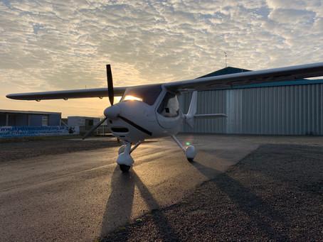 Short Video : Flight Design CT landing at Shotton Airfield.