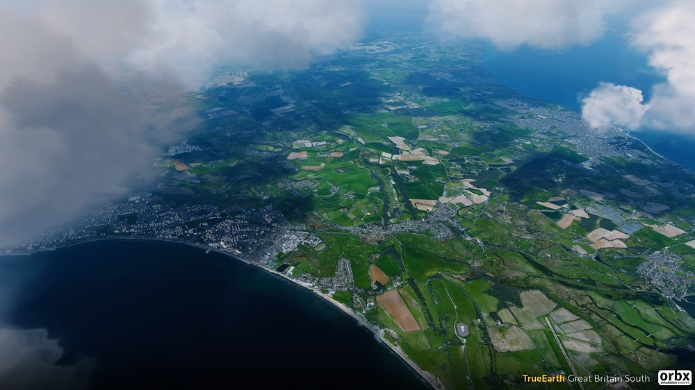 High-fidelity UK scenery from Orbx