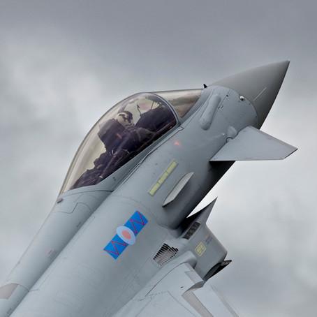 Flying the RAF's Typhoon Simulator