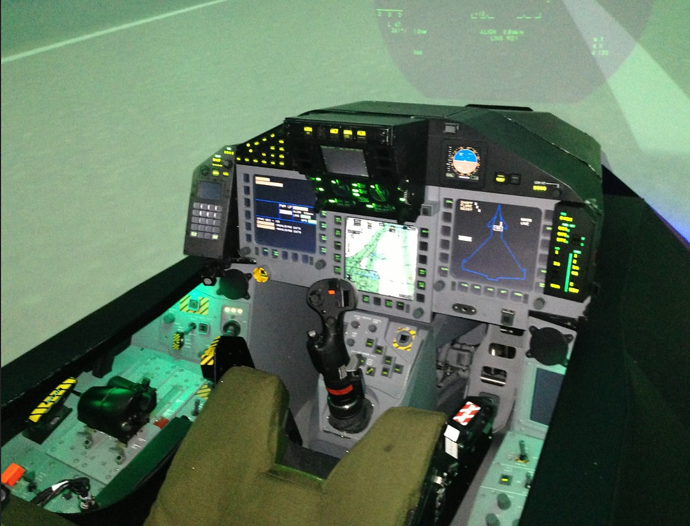 Typhoon Simulator Cockpit