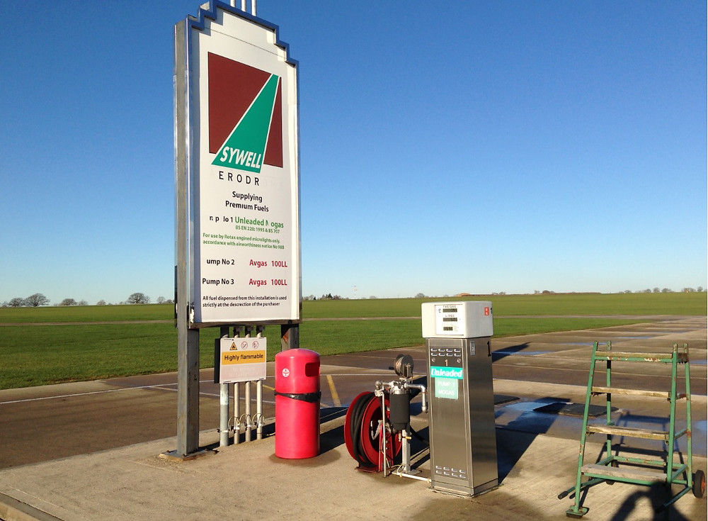 Sywell has unleaded mogas on the pumps