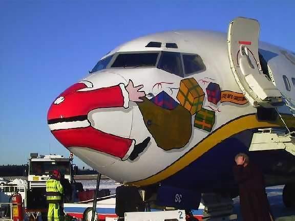 Santa did not file a flight plan.