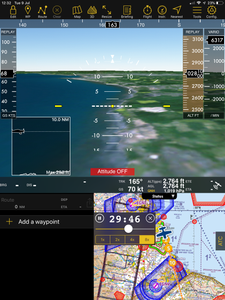 Air Navigation Pro Synthetic Vision.