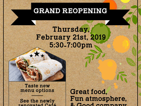 Eddie's Cafe Grand Reopening
