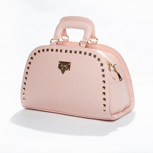 Phenomenal Pink Bowler Bag