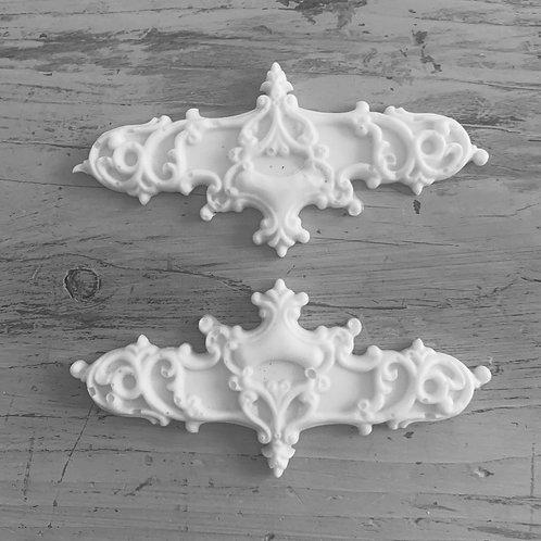 Cottage Chic Ornate Applique's - 2