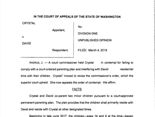 Court of Appeals Decision