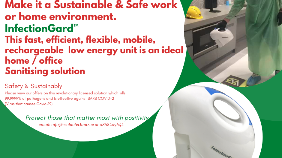 InfectionGard™  Mobile Dry Mist Sanitising System