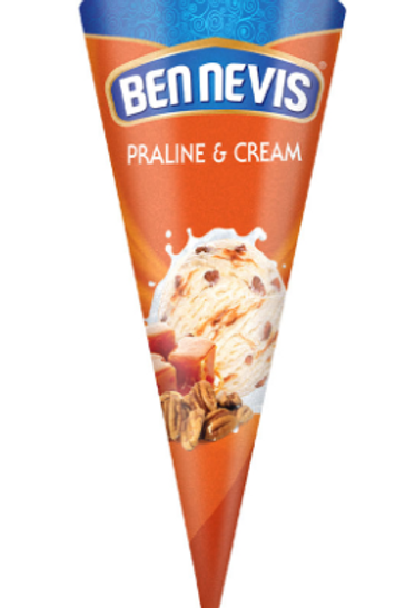 Ben Nevis Praline and Cream Ice Cream - 120ml