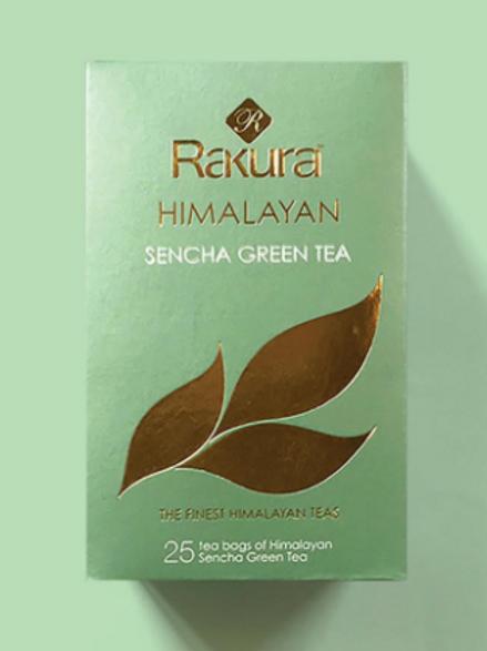 Himalayan Sencha Green Tea - 25 Tea Bag