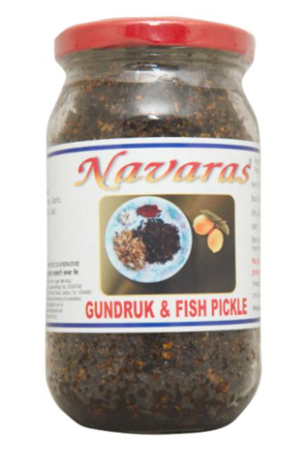 Navaras Gundruk Fish Pickle - 200 g