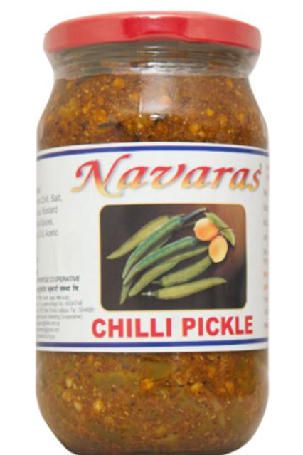 Navaras Chilli Pickle - 400 g