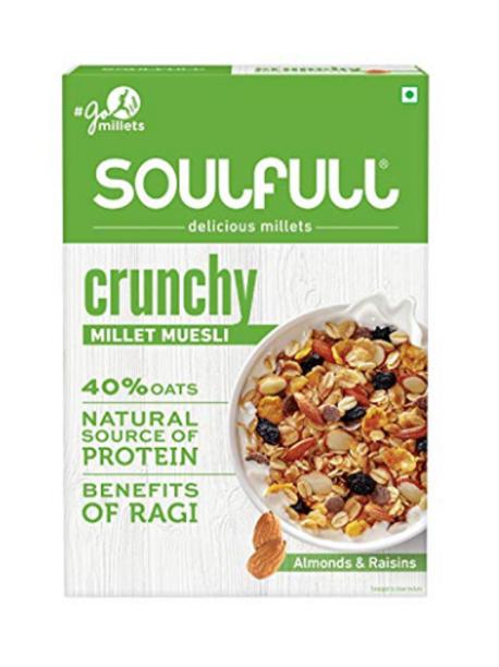 Essential Living SoulFull Millet Muesli - Crunchy - 400g