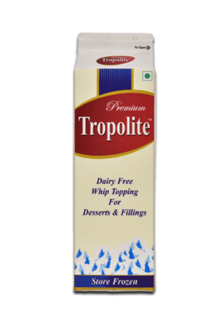 Tropolite Non Dairy Whipped Topping Cream - 1Kg